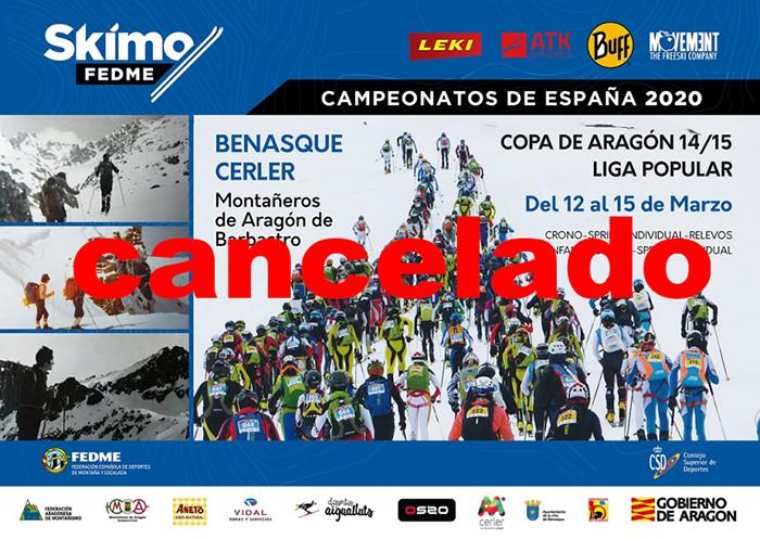La Federación de Montaña suspende todos los eventos y competiciones