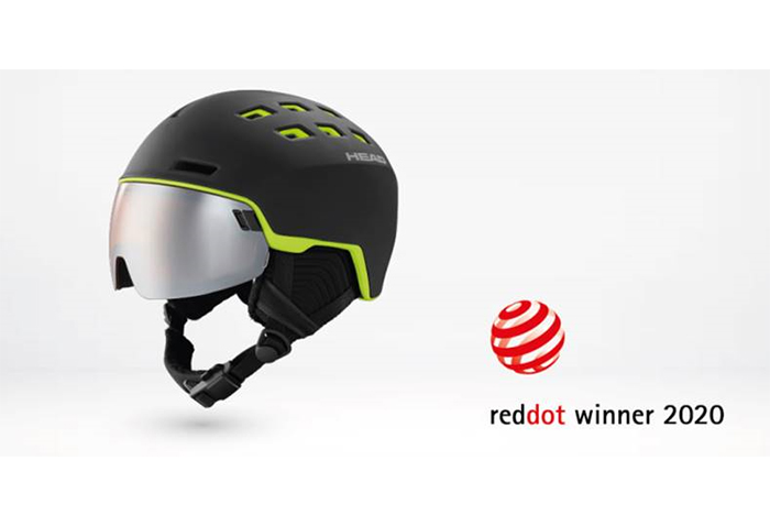 Head gana un Red Hot Design Award por su casco Radar