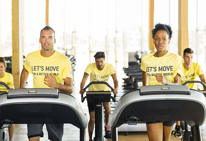 "Technogym pospone la campaña ""Let's Move for a Better World"""