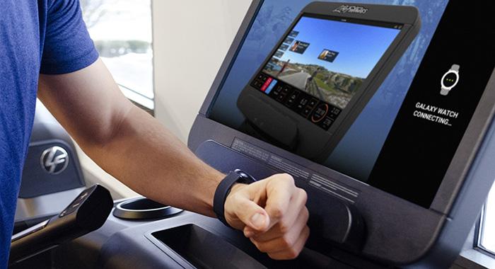 Life Fitness integra Samsung Galaxy Watch en sus equipos de cardio