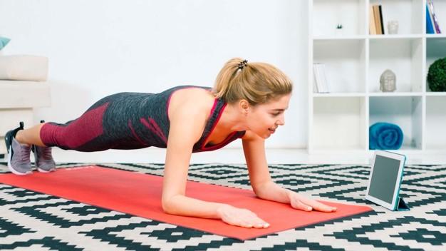 Los fisioterapeutas aconsejan cuatro circuitos para realizar en casa