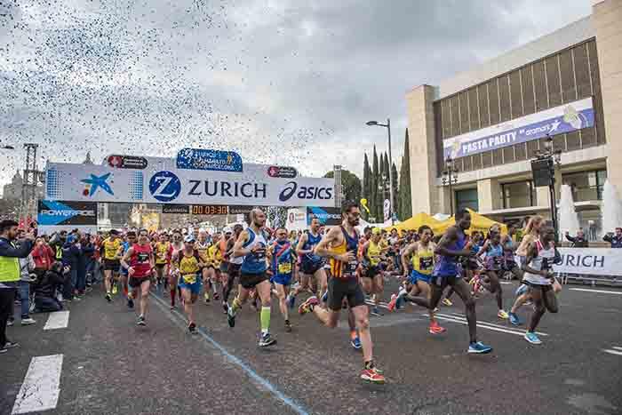 ASICS se descuelga de la Expo de la Maratón de Barcelona
