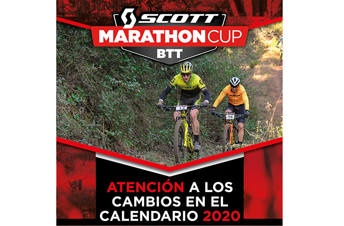 Cambios en el calendario de la Copa Catalana Internacional Biking Point y la Scott Marathon Cup