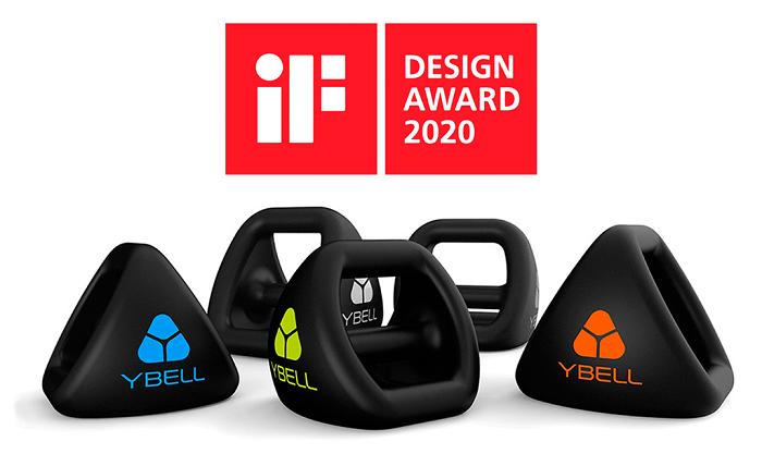 YBell Fitness gana el premio iF Design Award 2020 a la excelencia en diseño