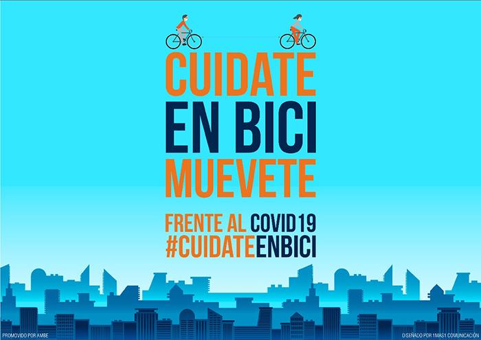 AMBE lanza una campaña de promoción de la bici frente al Covid-19
