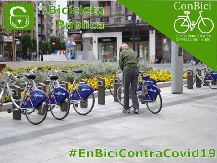 ConBici urge a la reapertura de los talleres ciclistas y los sistemas de bici pública