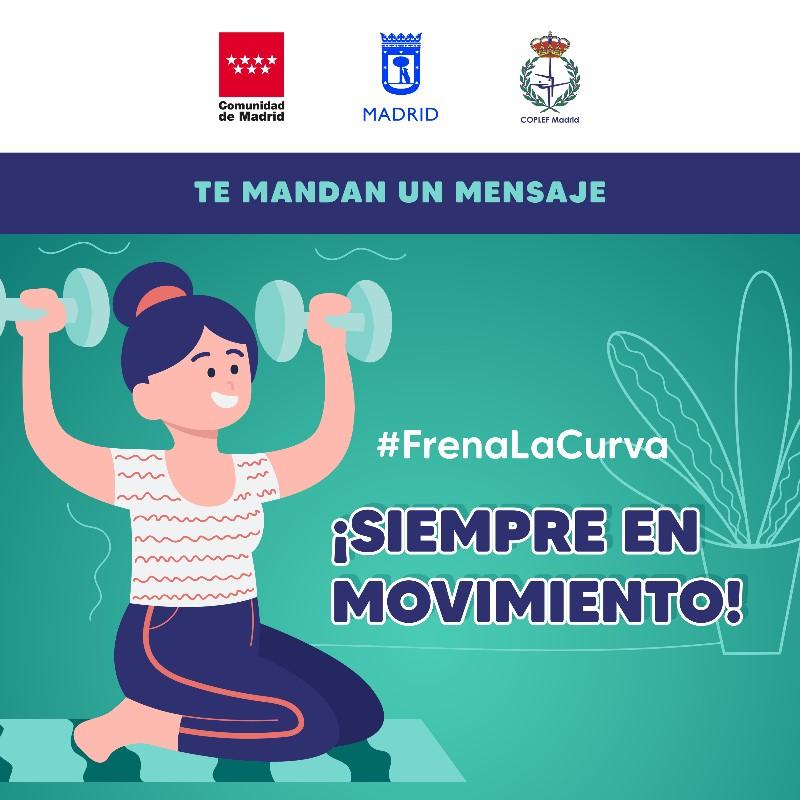 Coplef Madrid recuerda que el ejercicio físico debe estar supervisado por profesionales