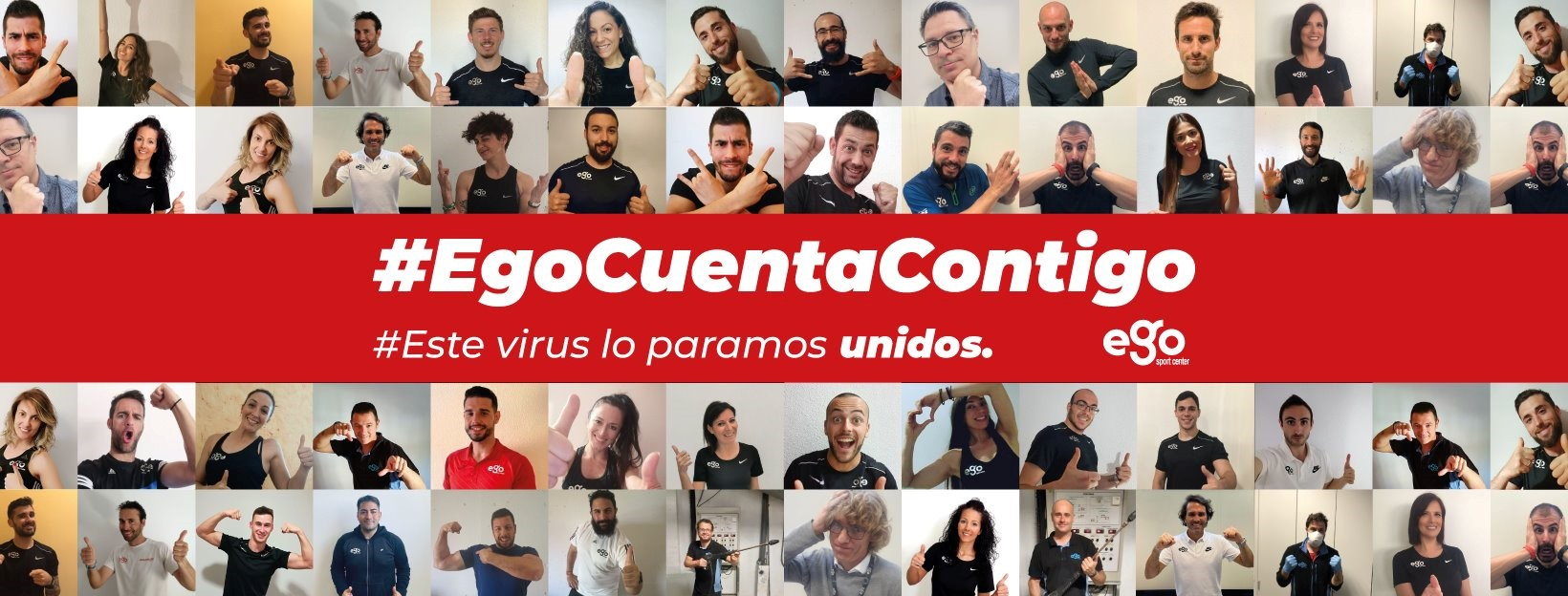Ego Sport Center se une a la campaña 'Resistiré'
