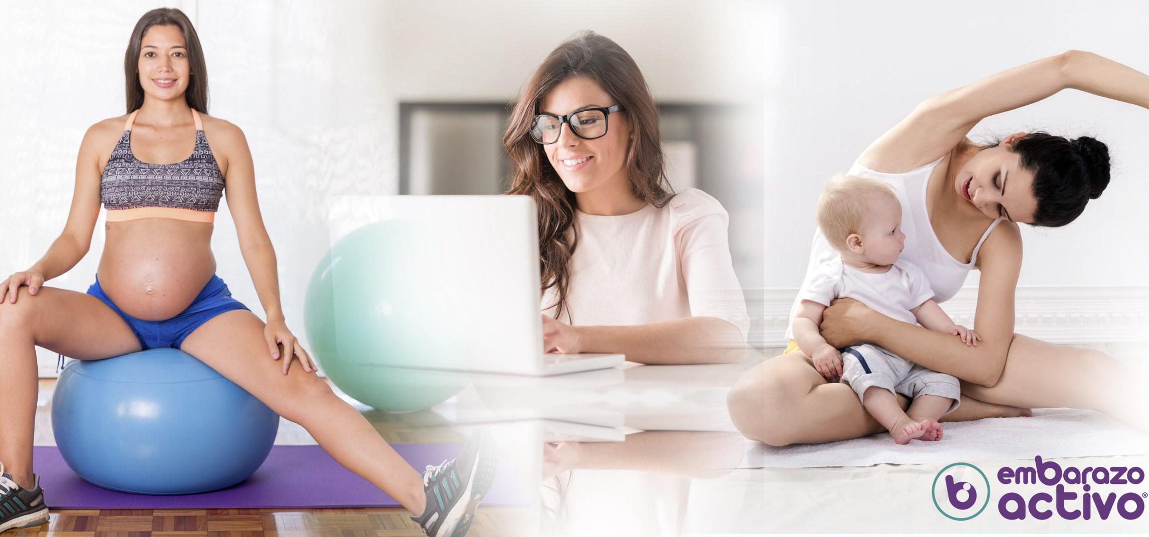 Embarazo Activo reconvierte todas sus actividades al formato virtual