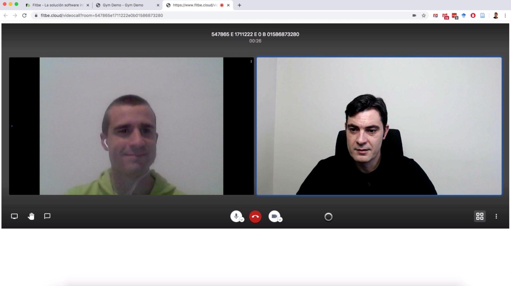 Fitbe incorpora la nueva función de Videollamada Personal integrada