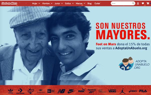 Foot on Mars lanza una campaña de apoyo a la gente mayor