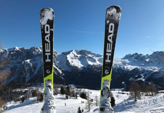 Head lídera el ránking de cuota de presencia en las pistas de cuatro estaciones de esquí