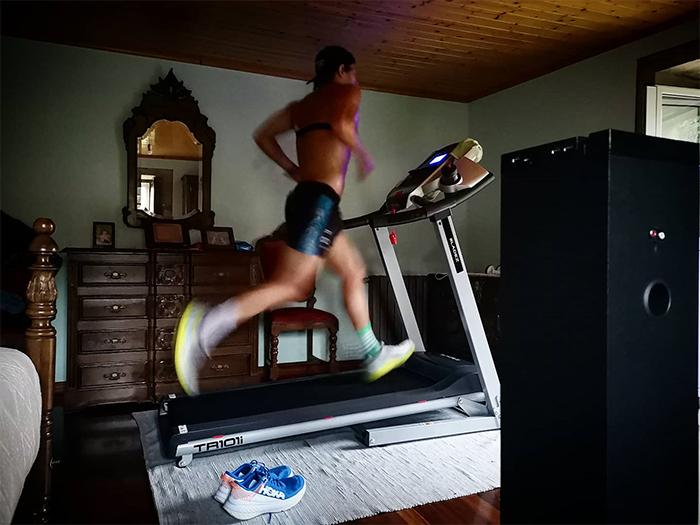 Los triatletas del Hoka Team Spain siguen entrenando