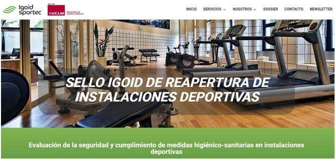 Igoid crea un sello de reapertura de instalaciones deportivas