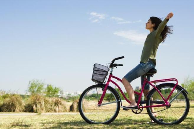 ir en bicicleta