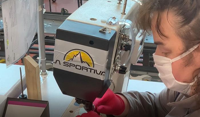 La Sportiva se une a la fabricación de mascarillas y batas
