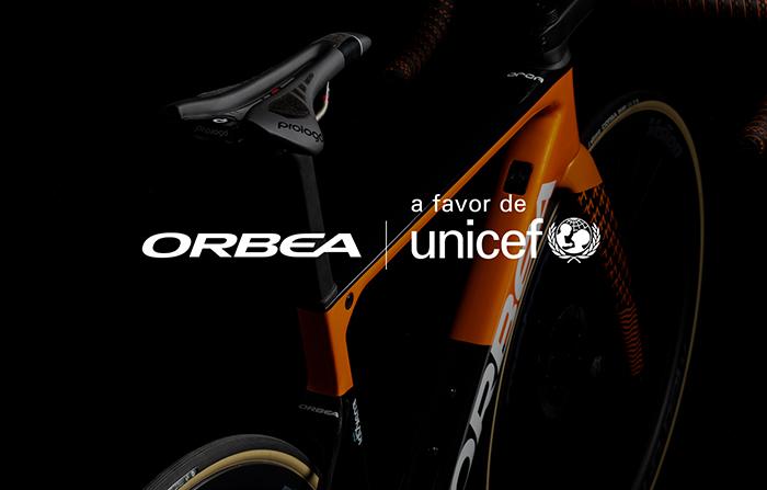 Orbea lanza una subasta para recaudar fondos para Unicef
