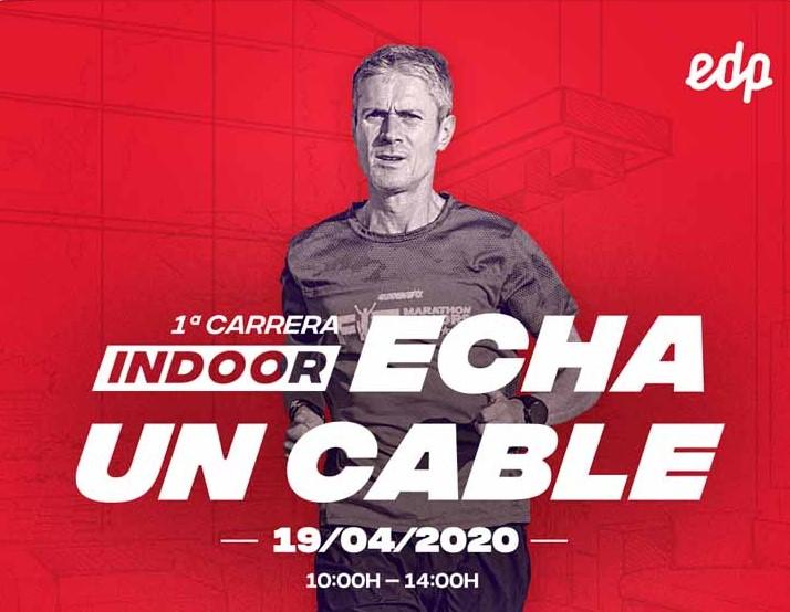 Organizan una carrera indoor solidaria apadrinada por Martín Fiz