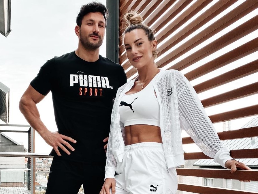 Puma ficha a los 'influencers' de fitness Vikika Costa y Javier Menéndez