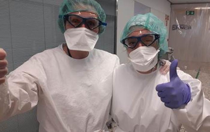 Snow Factory dona 90 máscaras a los sanitarios de Puigcerdà