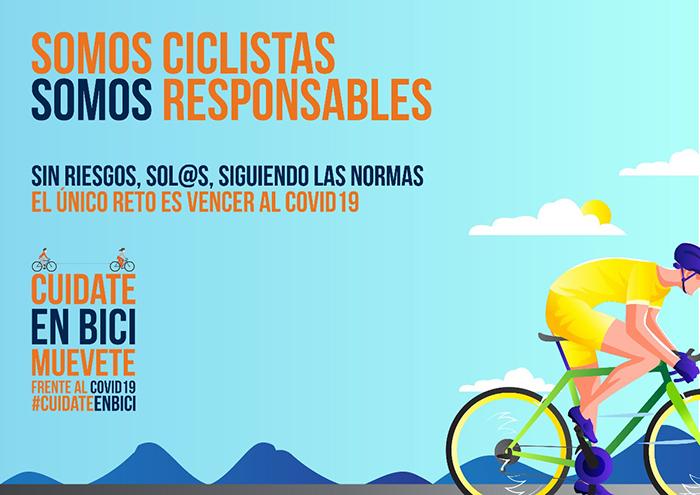 AMBE lanza una campaña apelando a la responsabilidad de los ciclistas