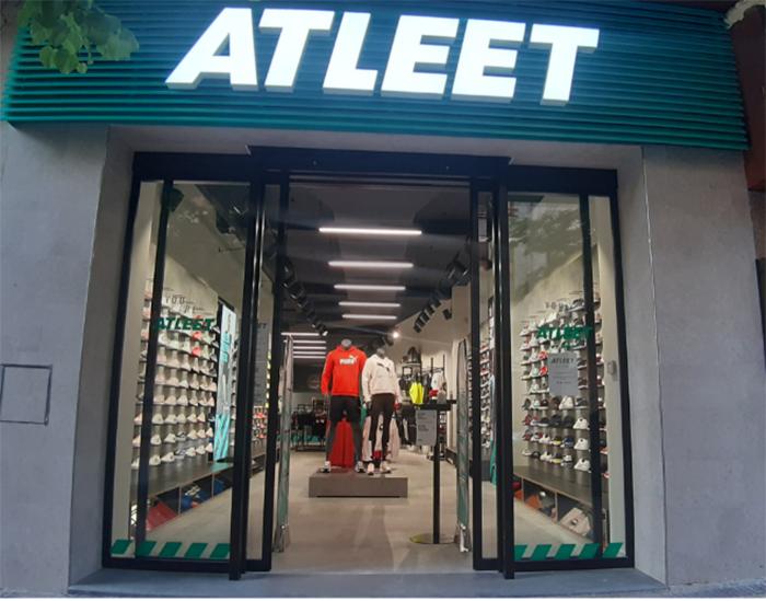 Atleet Alcañiz, la primera tienda de deportes que se inaugura en pleno desconfinamiento