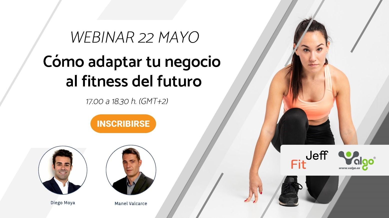 'Cómo adaptar tu negocio al fitness del futuro', nuevo webinar de Valgo