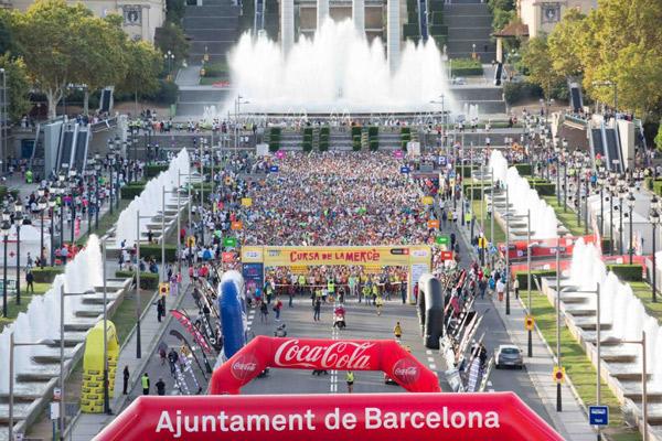 El Ayuntamiento de Barcelona prepara la Cursa de La Mercè y la Marató