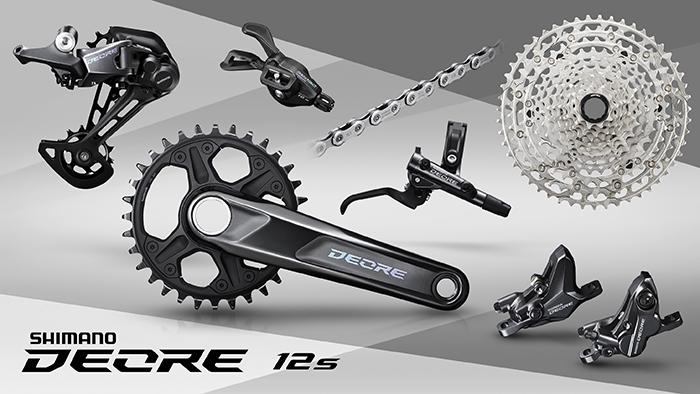 Shimano presenta su nuevo grupo Deore de 12 velocidades para MTB