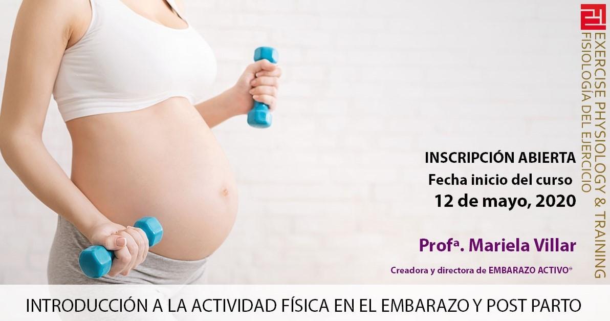 Embarazo Activo imparte varios webinars