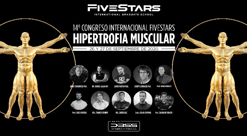 FiveStars IGS organizará el congreso más importante del mundo sobre hipertrofia muscular
