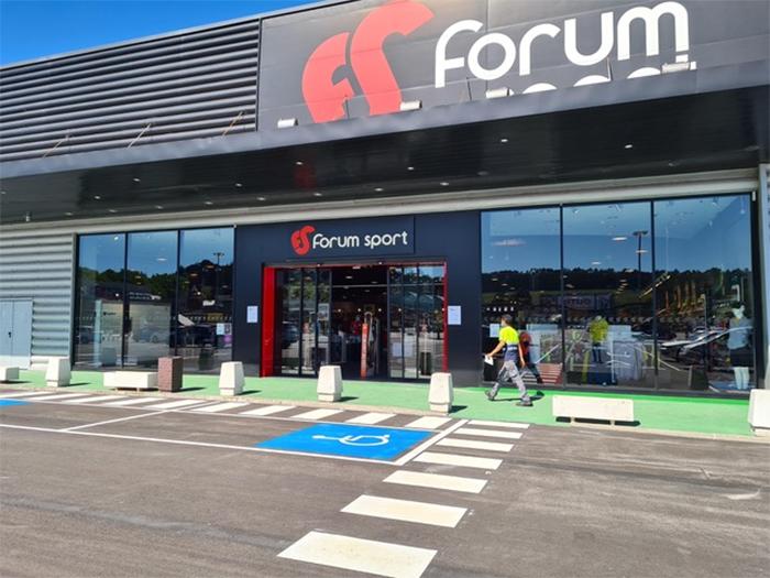 El 83% de las tiendas de Forum Sport ya están abiertas