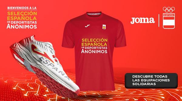 Joma homenajea a los deportistas anónimos con una línea de productos