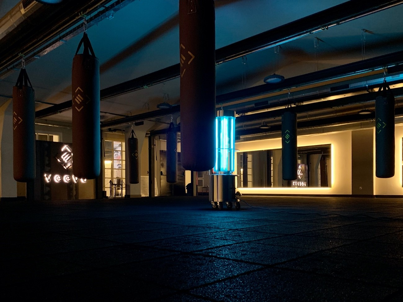 Los centros boutique Veevo aplicarán luz ultravioleta para desinfectar