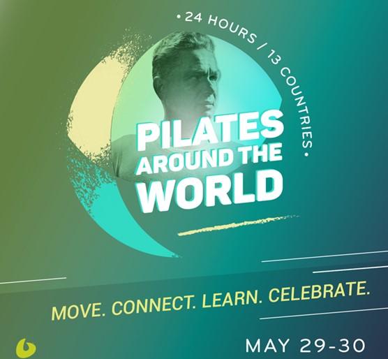 Pilates Around the Worldse celebrará el 29 y 30 de mayo