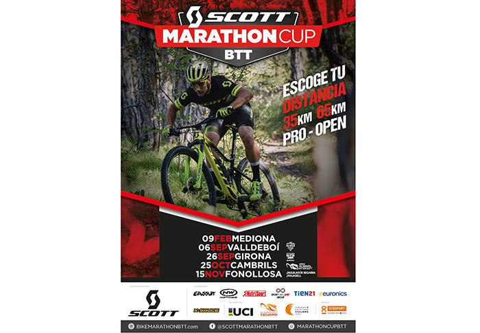 La Scott Marathon Cup presenta su nuevo calendario 2020