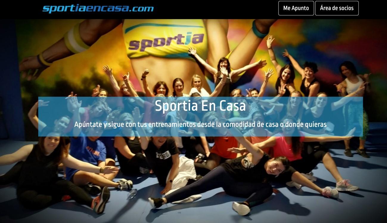 Los gimnasios Sportia lanzan su propia plataforma de home fitness