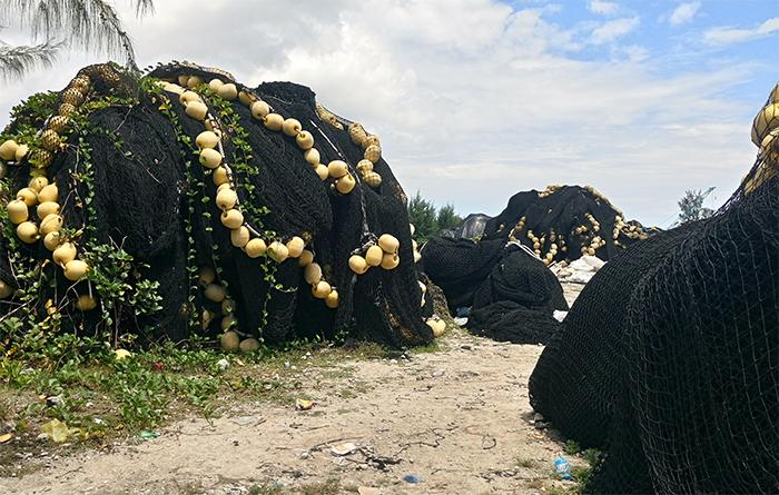 Ternua participa en el proyecto Saretu de reciclado de redes de pesca