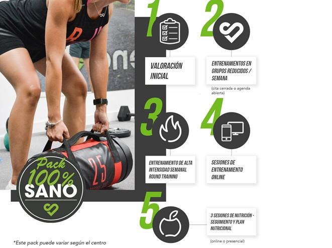 '100% Sano', el nuevo servicio de Sano Center