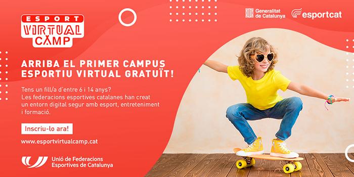 Las federaciones catalanas lanzan un campus deportivo virtual