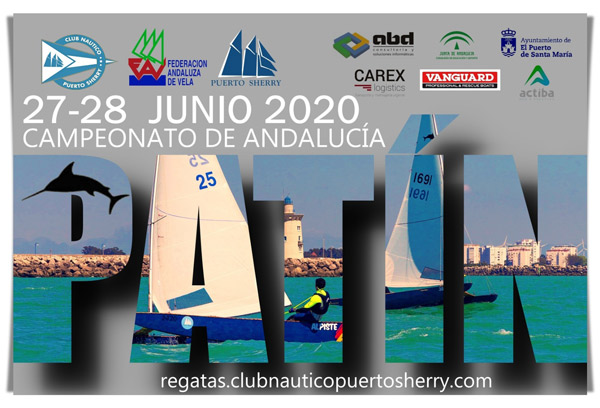 El Campeonato de Andalucía 2020 de patín a vela vuelve a calentar motores