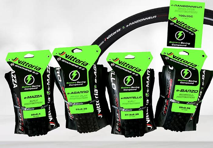 Vittoria lanza nuevos neumáticos específicos para ciclismo eléctrico de montaña y urbano
