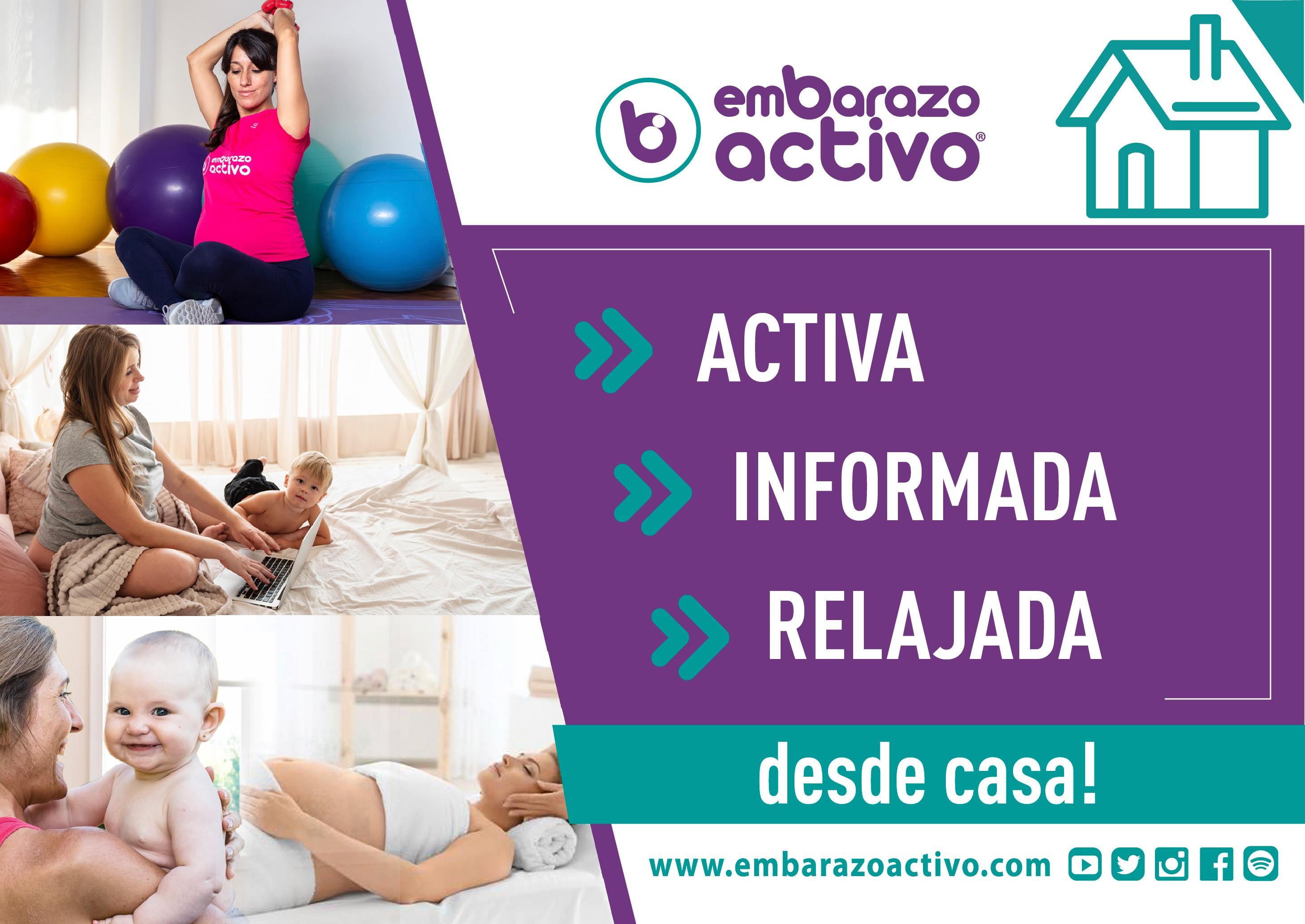 Embarazo Activo celebra sus primeros 100 días de actividades on line