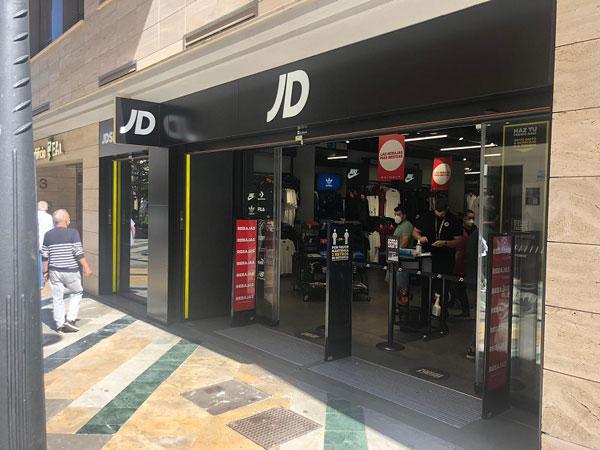 JD Sports pone al día su expansión y enfila hacia las 94 tiendas en Iberia este año