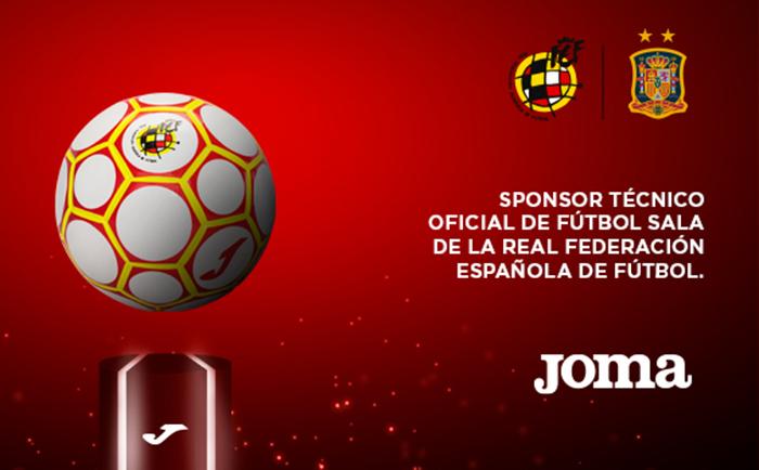 Joma y la RFEF desvelan el balón oficial de los play-off de fútbol sala