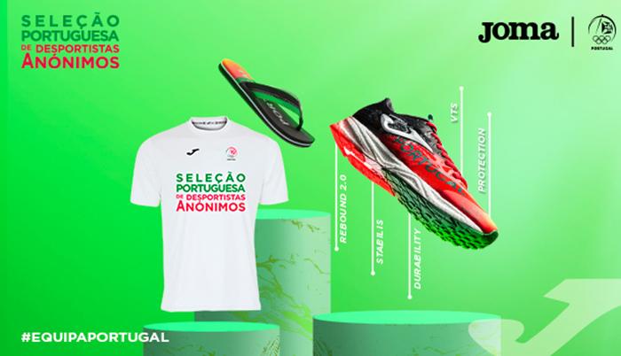 Joma extiende su campaña de apoyo a deportistas anónimos a Portugal