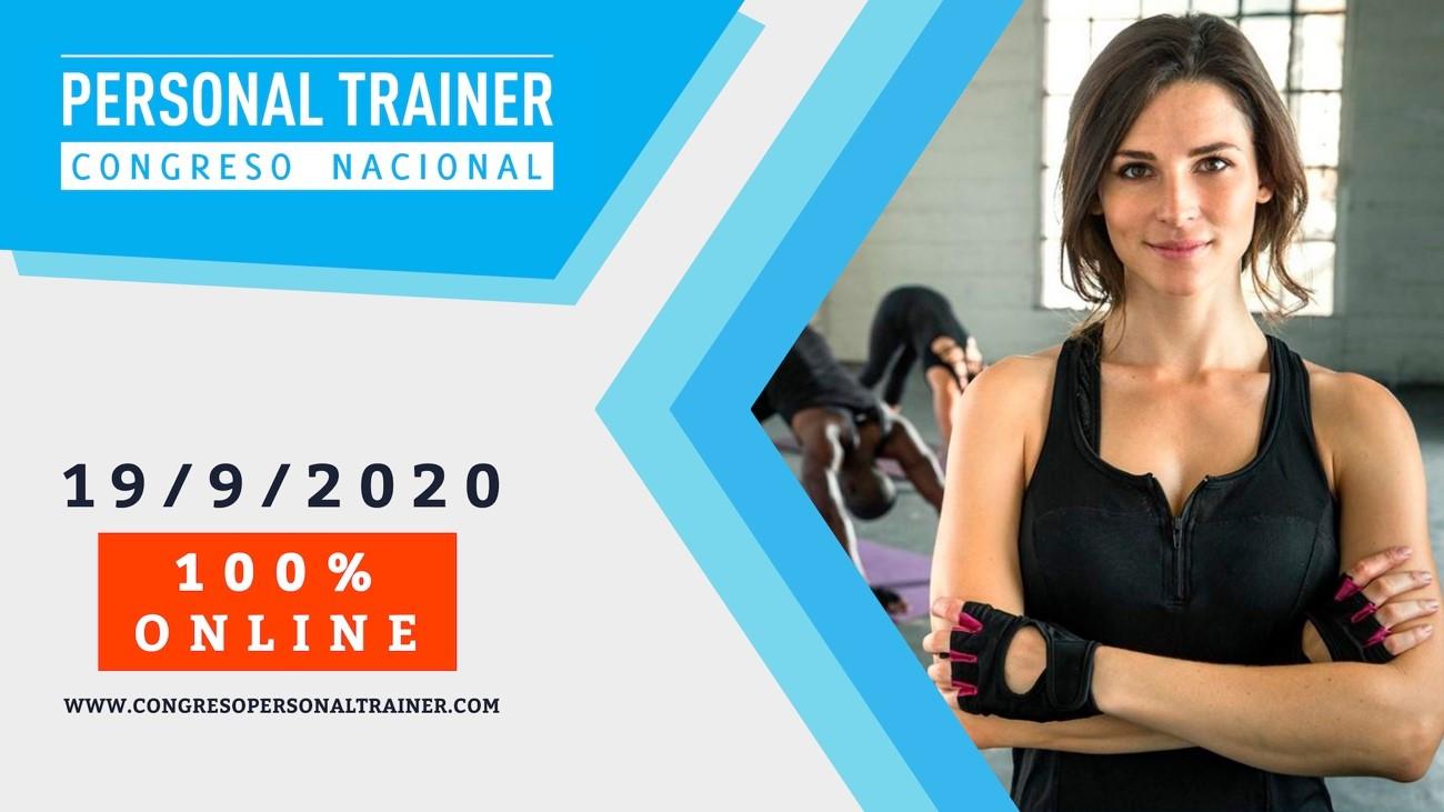 La 6ª edición del Congreso Personal Trainer será online