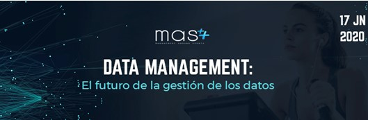 MAS organiza la ponencia 'Data Management: el futuro de la gestión de los datos'