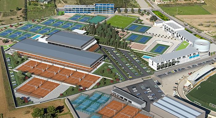 La Rafa Nadal Academy se amplía con 10 nuevas pistas