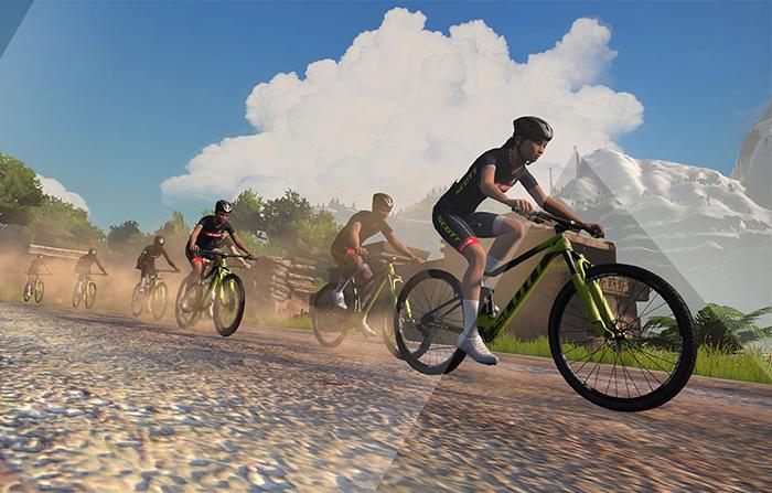 Scott y Zwift se unen en una semana de ciclismo virtual